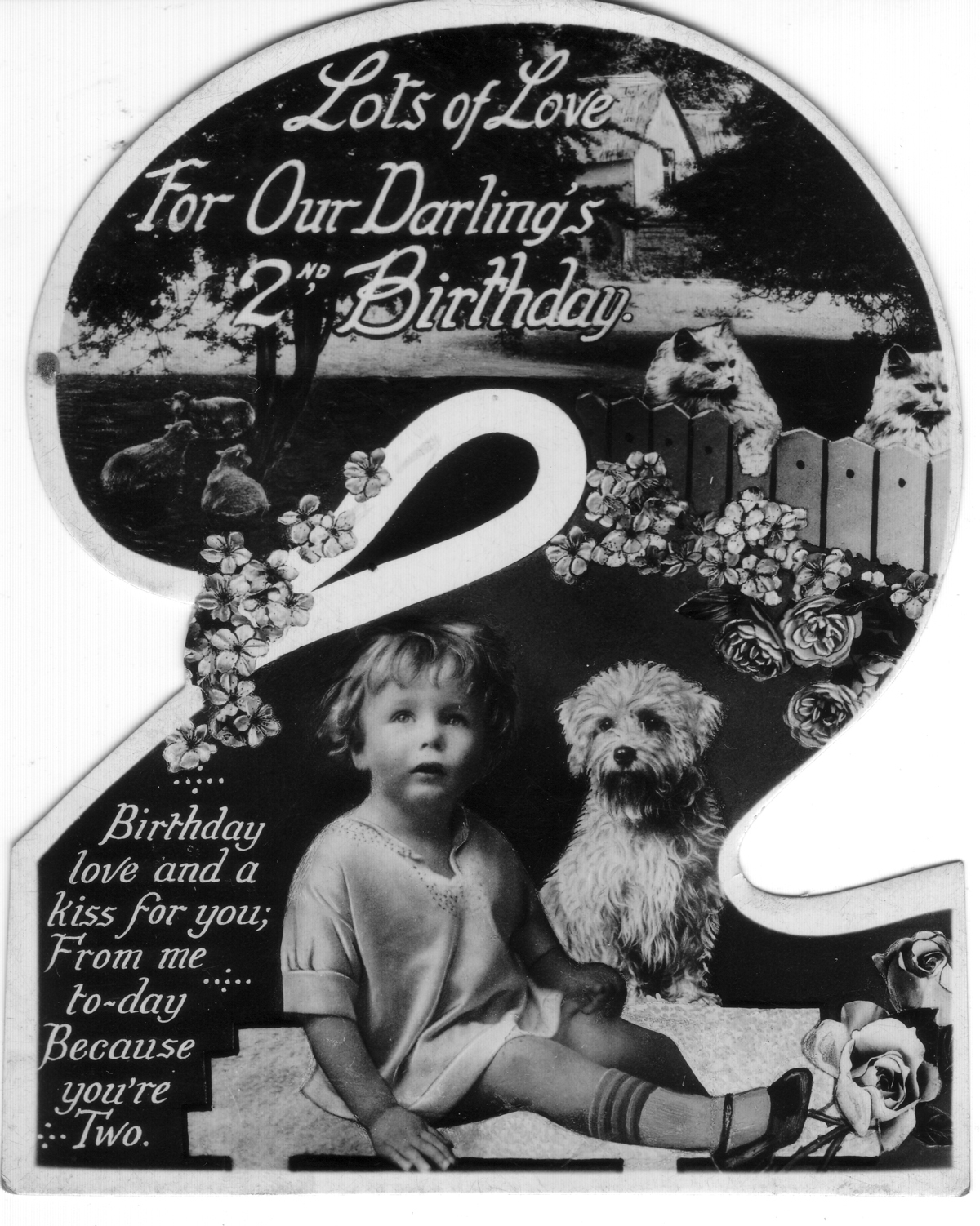 Children's Birthday Card c.1934