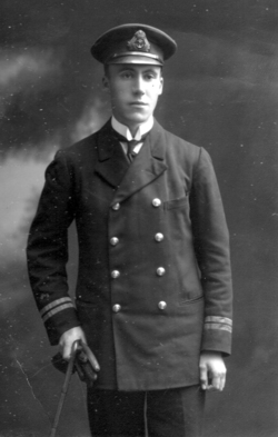 Studio Portrait Naval Officer c.1918