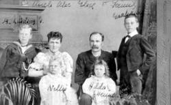Studio Portrait Victorian Family c.1893