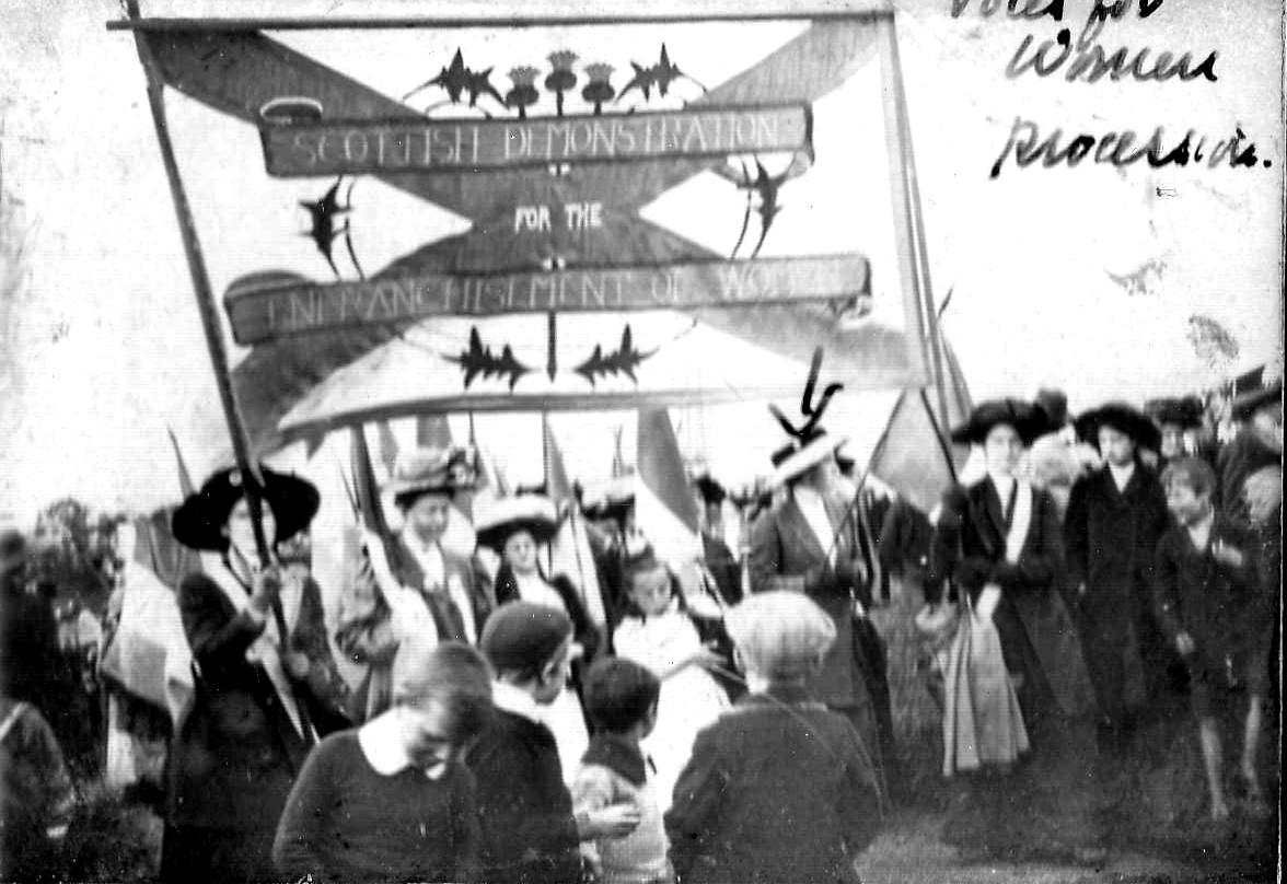 Scottish Demonstration For The Emancipation Of Women 1900s