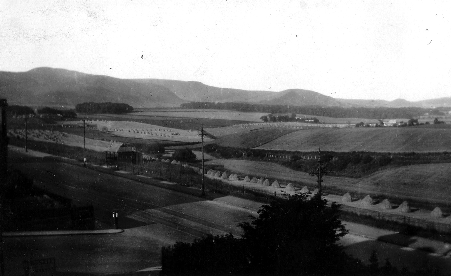 Comiston Road As Seen From 11 Pentland Terrace Looking South-West c.1934