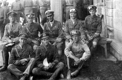 Group Of Naval Officers At Ease c.1918