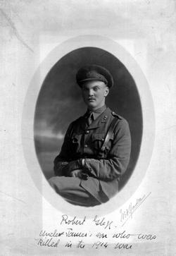 Studio Portrait British Officer c.1914
