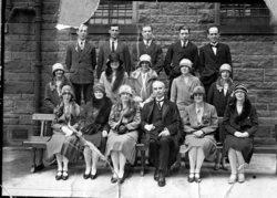 Charteris Church Choir 1920's