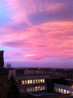Merchiston at dawn