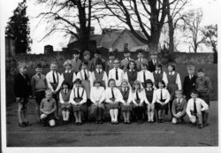 Cramond Primary School. Circa 1964