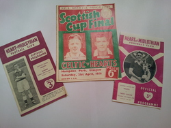 Hearts football programmes