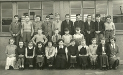 Christine Laidlaw and Class of 1955 Wester Hailes Primary School
