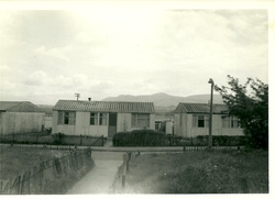 ARCON Prefabs on Calder Terrace Sighthill 1955