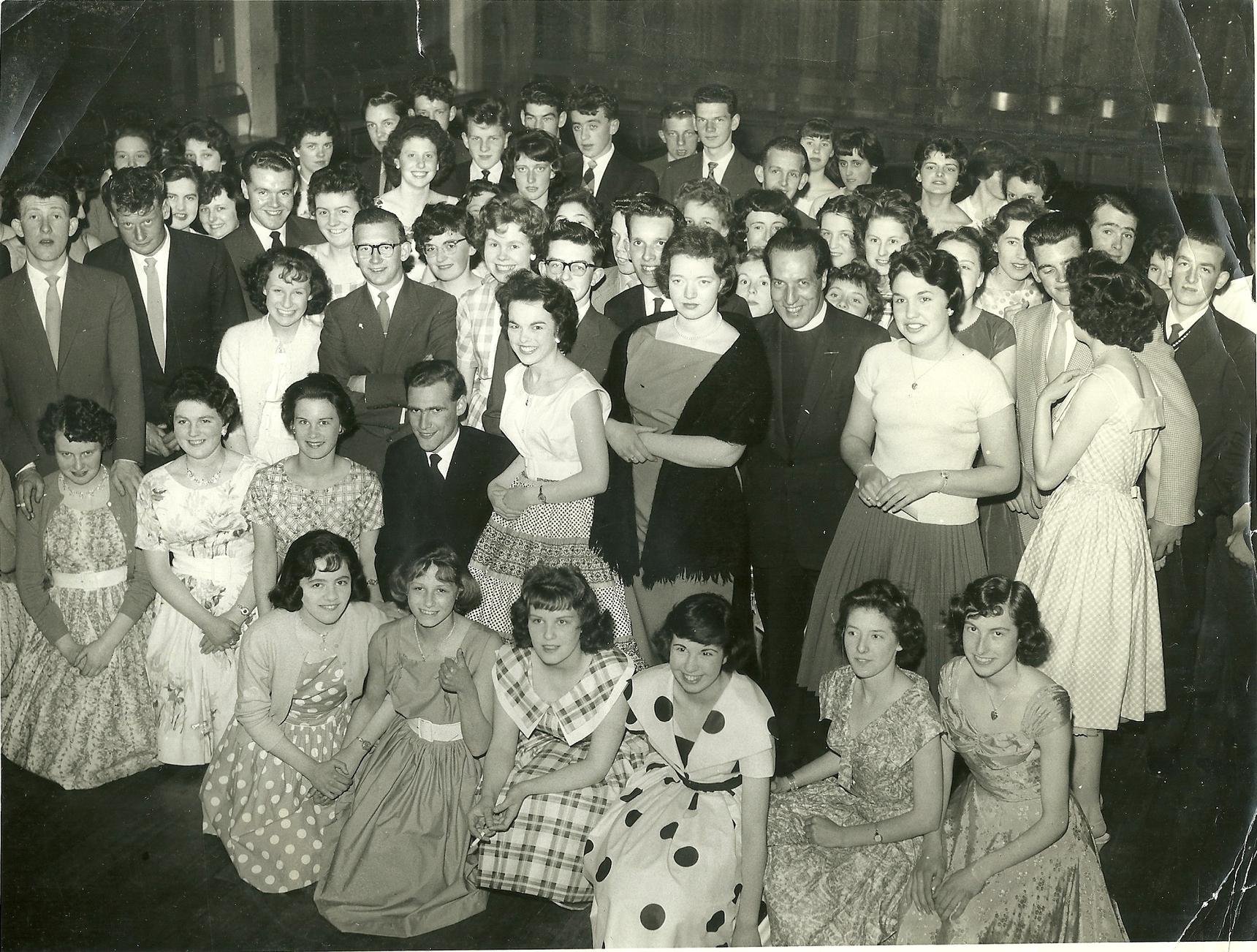 St Nicholas Church Youth Club Dance 1961