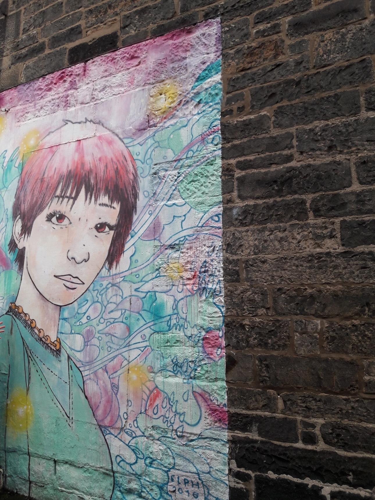 Mural, Leith Walk