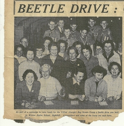 Beetle Drive at Wester Hailes Primary School.