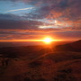 Sunrise on Arthur's Seat
