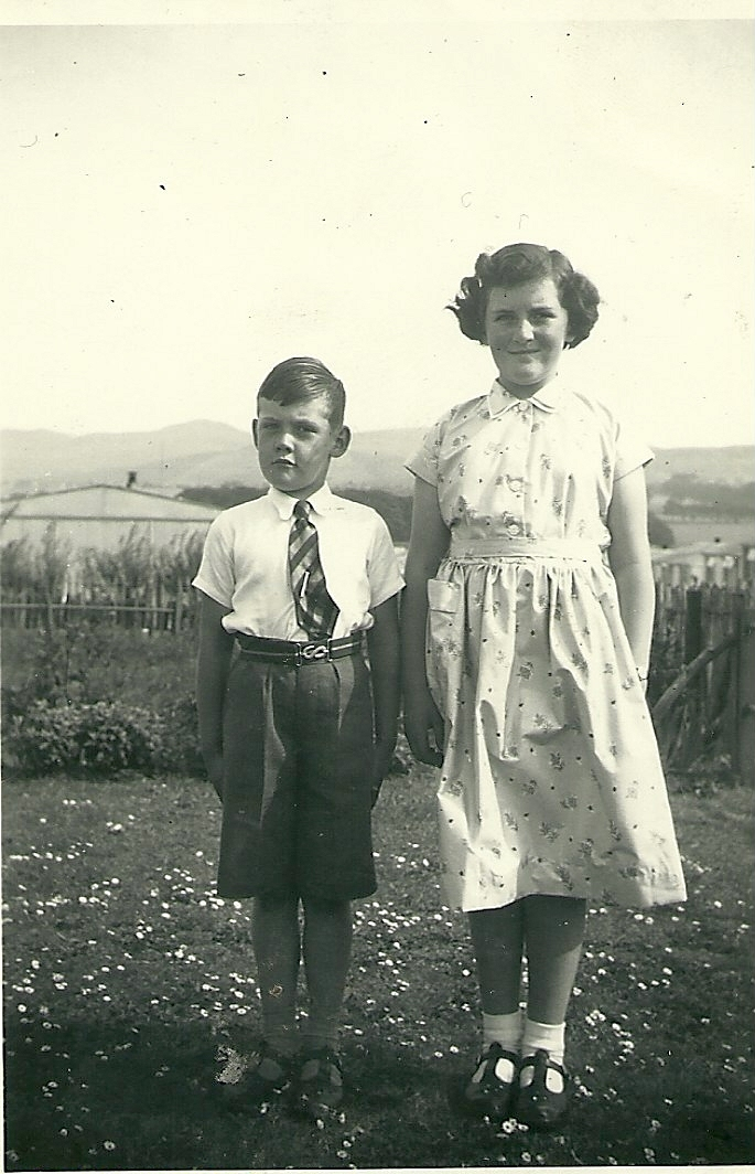 Stuart and Christine Laidlaw 1955
