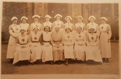 St Leonard's Hall Red Cross Hospital, Nurses WW1