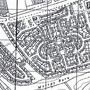 Map showing site of Wester Hailes Primary School 1960