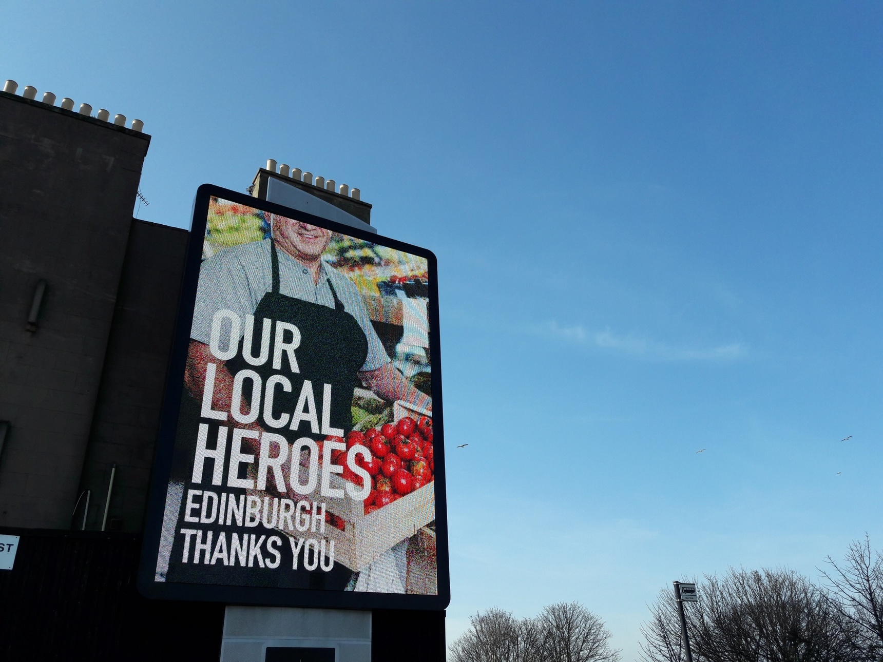 Our local heroes - food producers and shop workers