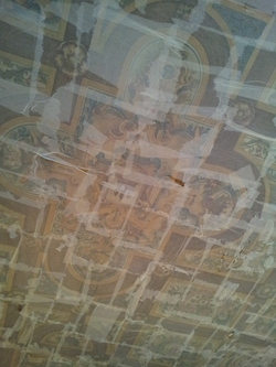 Painted ceiling, Riddle's Court