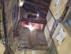 Renovation works, Riddle's Court