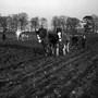 Picture 1 - Ploughing next to the Union Canal.