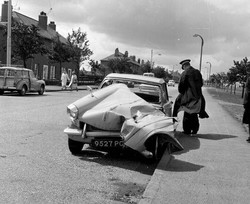 Accident on the Old Calder Road 1960s