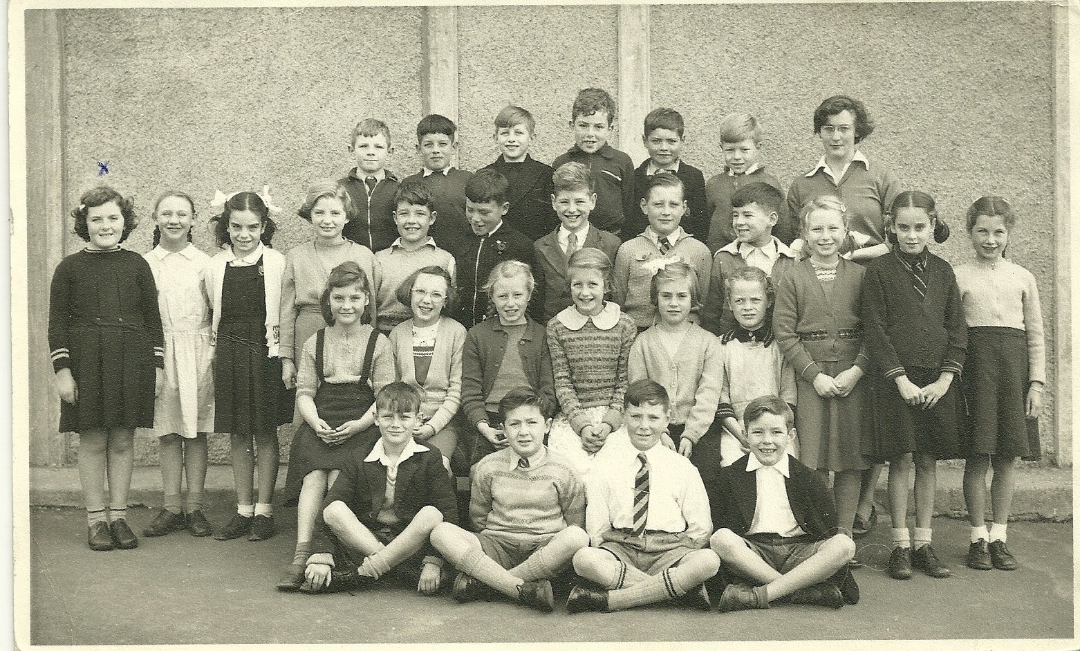 Christine Laidlaw and Miss Freer's Class of 1952/53 Wester Hailes Primary School
