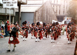 Monktonhall Colliery Pipe Band c.1990