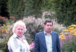 Husband And Wife Visiting Gardens c.1980