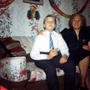 Mother And Son Celebrating During Christmas In Their Canongate Home c.1962