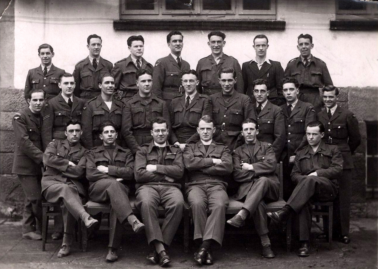 Group Portrait RAF Regiment Servicemen c.1945