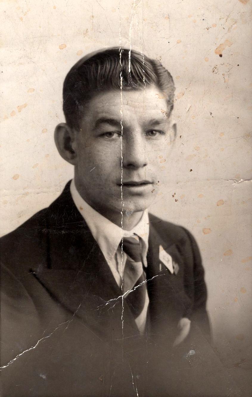 Studio Portrait Young Man c.1939