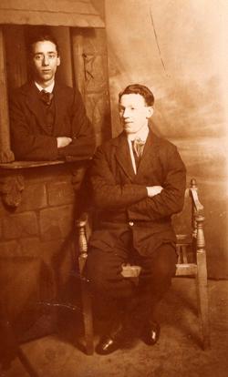 Studio Portrait Two Brothers c.1905