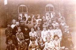 Unidentified School Class Portrait c.1930