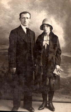 Studio Portrait Young Couple, 21st August 1930