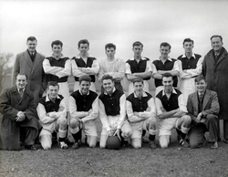 Bertrams Engineering Works Football Team 1950s