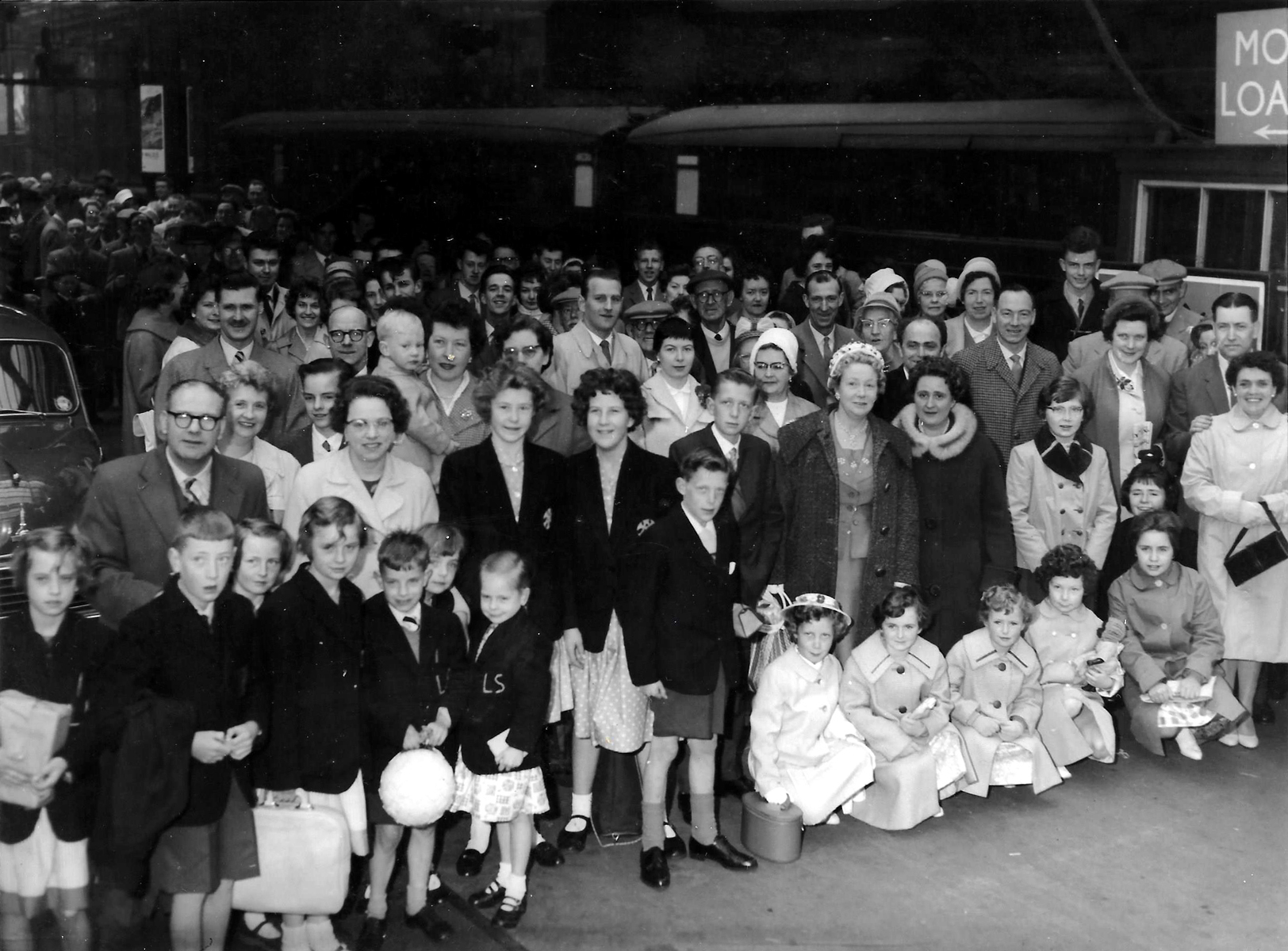 Bertrams Workers And Families Outing To Glasgow c.1960