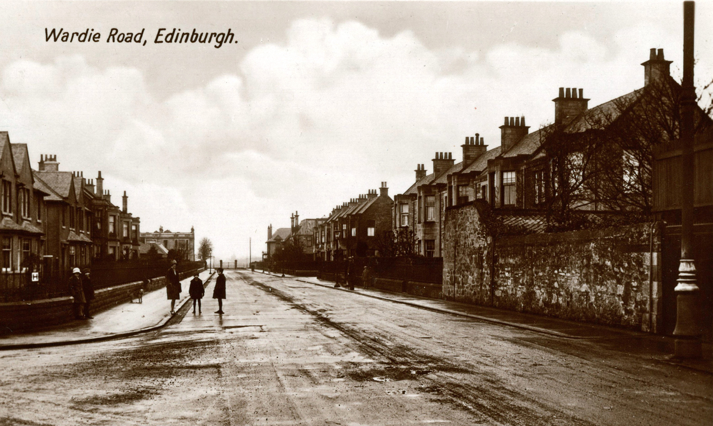 Postcard Of Wardie Road c.1930