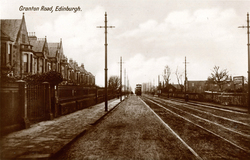 Postcard Of Granton Road c.1930