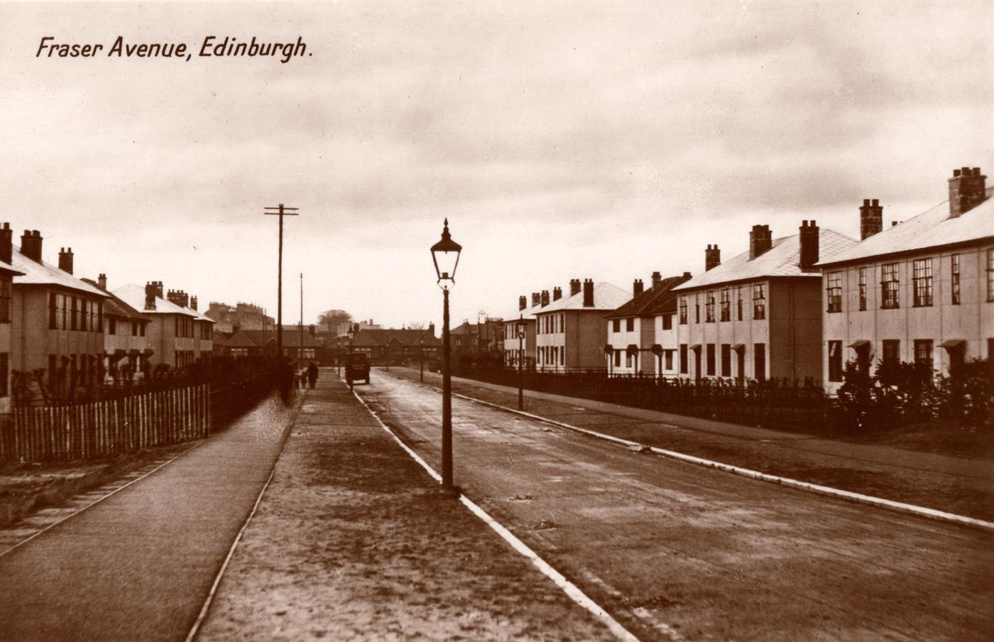 Postcard Of Fraser Avenue c.1930