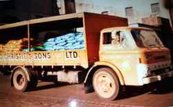 George Christie Coal Merchant Lorry c.1970