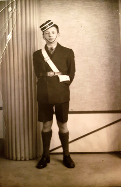 Studio Portrait Member Of Leith Boys Brigade c.1939