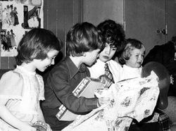 Craig & Rose Annual Works Children's Party Held In Pilrig Church c.1970