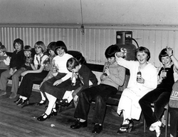 Craig & Rose Annual Works Children's Party Held In Pilrig Church, early 1970s