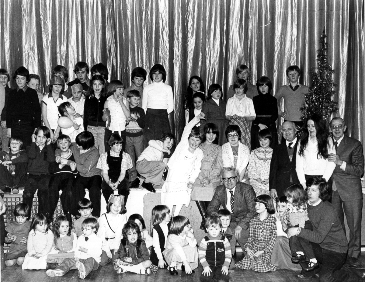 Craig & Rose Annual Works Children's Party At Pilrig Church, early 1970s
