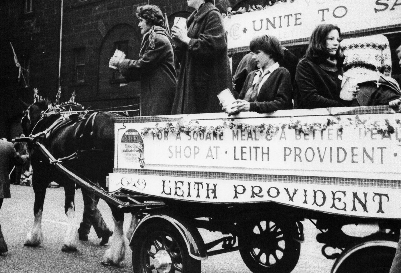 Leith Provident Float At The Leith Pageant c.1966