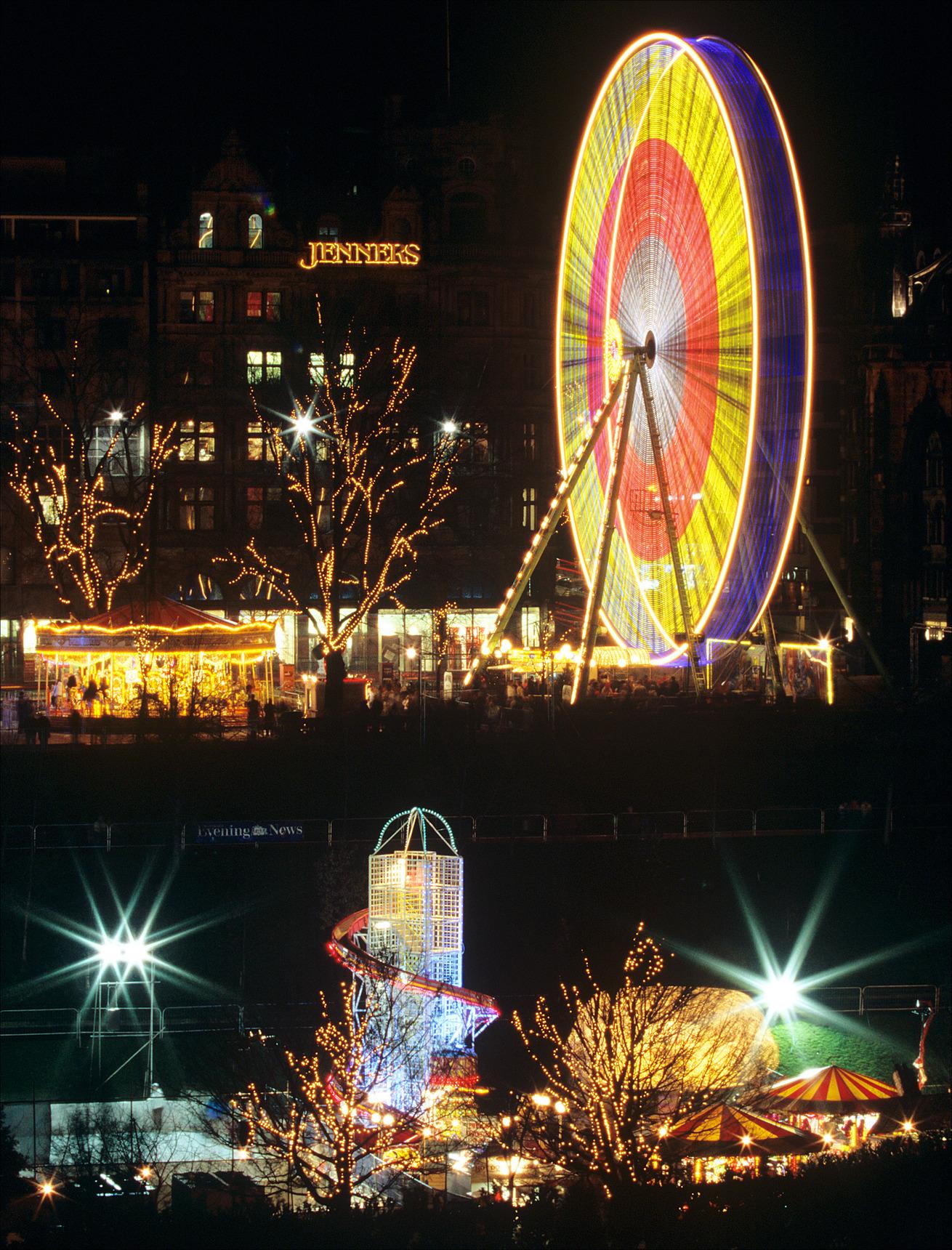Edinburgh Christmas Lights