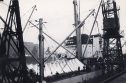 Ship's Tent Hatch Made From Nylon 1960s