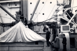 Ship's Hatch Tent Made From Nylon 1960s
