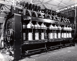 Sisal Twine Production - Yarn Being Delivered To Bobbin 1960s