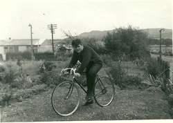Stuart Laidlaw on last Bicycle 1965